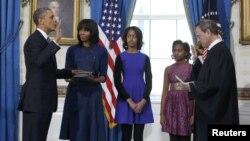 ԱՄՆ - Նախագահ Բարաք Օբամայի երդմնակալության արարողությունը Սպիտակ տանը, Վաշինգտոն, 20-ը հունվարի, 2013թ.