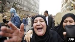 Похороны одного из погибших в Каире демонстрантов