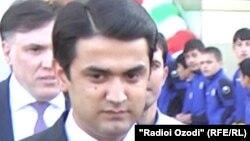 Президент Федерации футбола Таджикистана Рустами Эмомали.