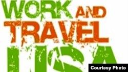 """""""Work and Travel"""" бағдарламасының белгісі. (Көрнекі сурет)"""