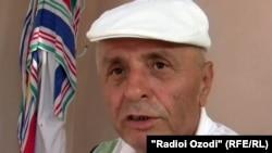 Tajikistan -- Sulton Quvvat, Tajik political figure, Dushanbe, 14Nov2011