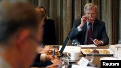 جان بولتون گفته است، آمریکا آماده است تاکارتوافقنامه تجارت آزاد بین دو کشور را تسریع کند.