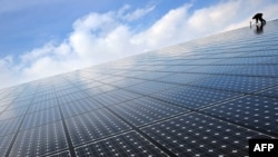 Energjia solare - fotografi ilustruese