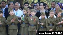 В прошлом году на 9 мая в Самарканде был организован военный парад.