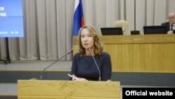 Министр финансов Чувашской Республики Светлана Енилина