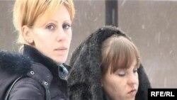 Наталья Касап и Евгения Пшеничникова, жительницы Талдыкоргана, пострадавшие в аварии.