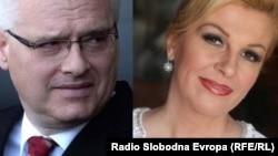 Ведущие кандидаты в президенты Хорватии – Иво Йосипович и Колинда Грабар-Китарович