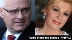 Incumbent President Ivo Josipovic is facing Kolinda Grabar-Kitarovic in a presidential runoff.