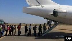 Сотрудников гуманитарной миссии ООН эвакуируют из Джибути. Иллюстративное фото.