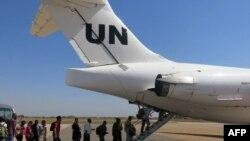 Эвакуация персонала ООН из Южного Судана