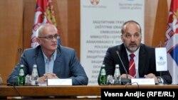 Poverenik za informacije od javnog značaja Rodoljub Šabić i zaštitnik građana Saša Janković