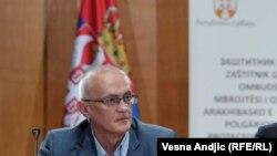 Rodoljub Šabić prilikom predstavljanja godišnjeg izveštaja o zaštiti građana