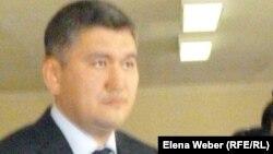 Вице-министр образования и науки Казахстана Саят Шаяхметов. Темиртау, 26 апреля 2013 года.