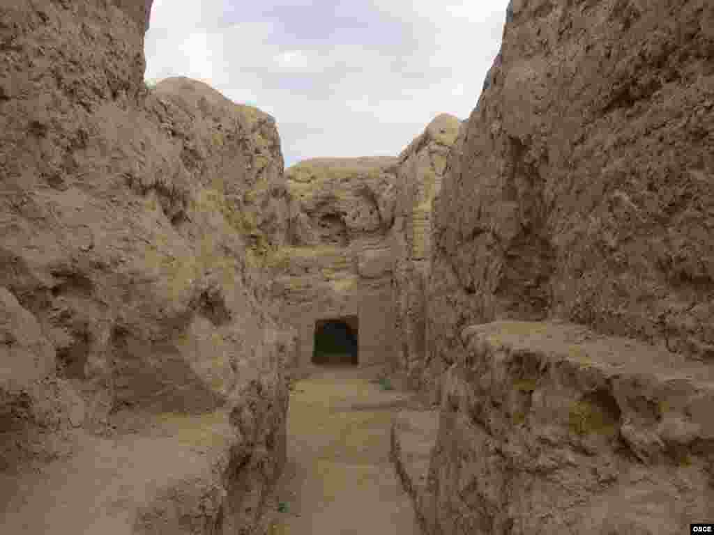 Ruins in Nisa - The Parthian Empire lasted from the third century BC to the third century AD -- well before the advent of Islam in Turkmenistan in the eighth century.