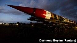 یک موشک بالستیک هسته ای در کوبا