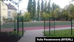 Спортивная площадка лицея