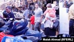 تسوق ما قبل العيد في بغداد