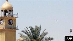آثار تدمير مأذنة مسجد الإمامين العسكريين في سامراء