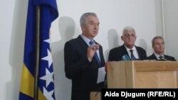 Slijeva nadesno: Mirko Šarović i Ljubomir Kalaba
