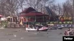از تصاویر منتشر شده از حادثه در توییتر.