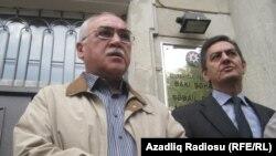 Иса Гамбар (слева) и Али Керимли