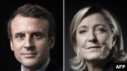 Emmanuel Macron və Marine le Pen