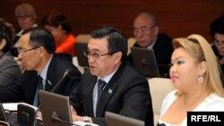 Бывший депутат мажилиса парламента Казахстана Бахыт Сыздыкова.
