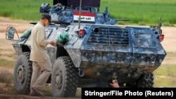 تصویری از حضور قاسم سلیمانی در عراق اسفند ۹۳