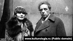 Зинаида Райх и Всеволод Мейерхольд