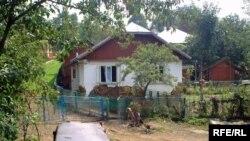 Хата родини Василиків після повені