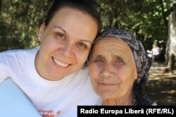 Diana Răileanu și Varvara Rufandă