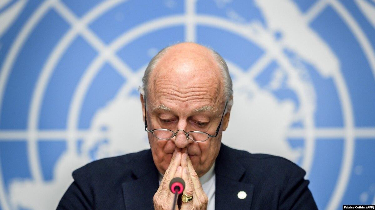 I dërguari i OKB së druan se IS i mund të rikthehet në Siri