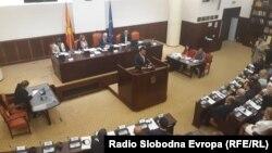 Zaev u obraćanju Komitetu za ustavna pitanja Sobranja, oktobar 2018