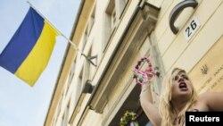 Jedan od protesta Femena u Ukrajini