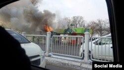 За последние три года в Ташкенте сгорели около 20 пассажирских автобусов.
