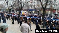 На акції протесту у Кишиневі