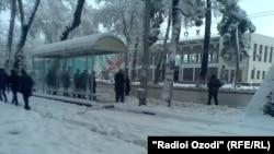 Шаҳри Душанбе, 9-уми марти соли 2013.