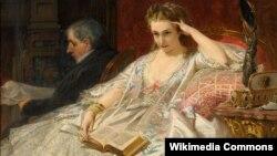 Фэлікс Арман Элян, Маладая шляхетная дама ў салёне