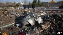 Իրան - Կործանված Boeing-ի բեկորները, 8-ը հունվարի, 2020թ․