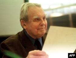 Чэслаў Мілаш, здымак 2000 году