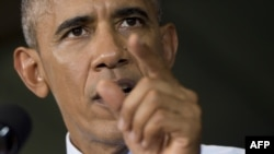"U.S. President Barack Obama says the new legislation sets a ""dangerous precedent."""