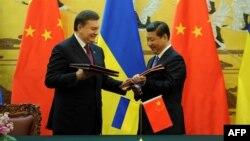 Віктор Янукович і Сі Цзіньпін