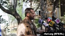 فهیم دشتی٬ سخنگوی جبهه مقاومت در پنجشیر