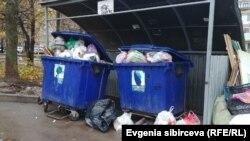 Площадка для сбора мусора в Вологде