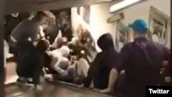 У римському метро зламався ескалатор із російськими вболівальниками