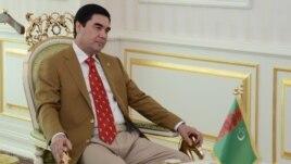 Ready for some company? President Gurbanguly Berdymukhammedov