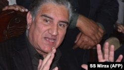 Пакистанскиот министер за надворешни работи, Шах Мехмуд Куреши