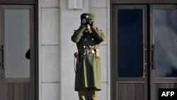 Në Zonën e Demilitarizuar... (foto arkivi)
