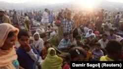 Рохинџа бегалци во Бангладеш