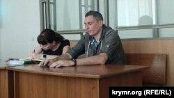 Ігор Мовенко в залі суду в анексованому Росією Криму, 4 травня 2018 року